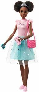 """Barbie Princess Adventure Nikki 11.5"""" Brunette Doll in Fashion 1.Oct.2020 New"""