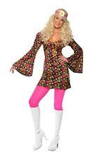 Disfraces de mujer multicolor, años 60