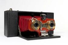 """Vintage ~ c1905 ~ """"Kodak"""" """"No.2 Stereo Brownie"""" Camera                     #1010"""