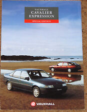 1992 VAUXHALL CAVALIER EXPRESSION 1.6  Sales Brochure - Special Edition Model