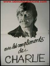 PORTRAIT CHARLES BRONSON Affiche Cinéma / Movie Poster