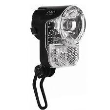 30 Lux Fahrrad Lampe LED Scheinwerfer AXA Standlicht Nabendynamo für KTM u.a.
