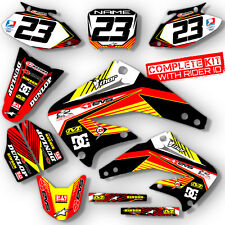 2000 2001 HONDA CR 125 250 R DIRT BIKE GRAPHICS KIT MOTOCROSS DECALS MX DECO
