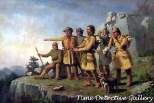 Daniel Boone's First View of Kentucky - Historic Art Print