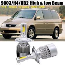 2x H4/9003 Car LED Headlight Kit Bulb For Honda Odyssey 2004-1995 Hi/Low Beam