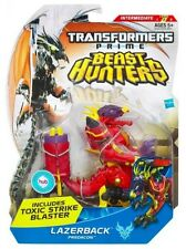 Transformers prime beast hunters deluxe lazerback-new in hand