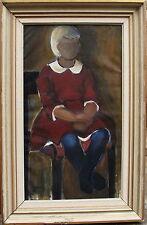 Eke Bjerén 1943-1999, Mädchenportrait, datiert 1961