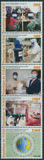 More details for chad 2021 mnh medical stamps corona health challenges from pandemic 5v strip