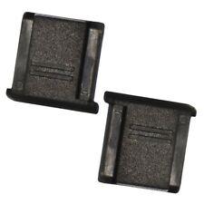 Kamera Blitzschuhabdeckung Schutz SLR Canon Nikon Pentax schwarz -