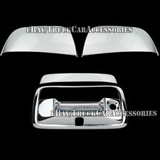 Chrome Covers Set Tailgate & Top Half Mirrors For Chevy Colorado 2015 2016 2017