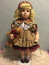 """26""""Amy Burgess Original porcelain artist Doll """"Puddintane"""" nib coa 314/1000 rare"""