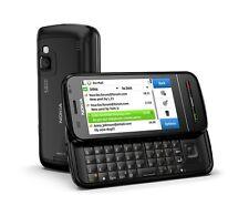 Nokia C6-00 Black Slider QWERTY RM-612 C6 Schwarz Mit Branding Ohne Simlock NEU