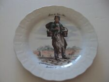FRENCH TINKERS, WORKER, SELLER. PLATES WINTERLING MARKTLEUTHEN #2