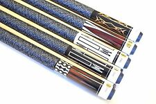 "SET OF 5 POOL CUES New 58"" Canadian Maple Billiard Pool Cue Stick #5 FREE SHIP"