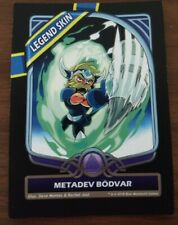 Brawlhalla - Metadev Bodvar Legend Skin Card & Code For All Platforms - PAX