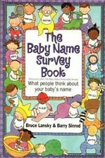 The Baby Name Survey Book Lansky, Bruce Paperback