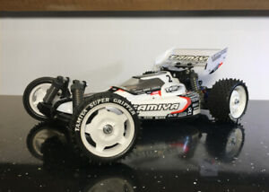 Custom Tamiya Super Astute Body Shell and Rear Wing by Revive RC
