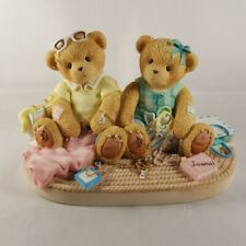 CHERISHED TEDDIES 2004 FIGURINE, FIONA & MYRA, FRIENDSHIP, 119433, HTF, NIB