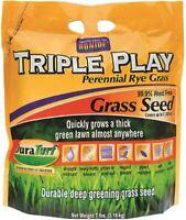 Bonide 60274 Triple Play Rye Grass Seed, 7 Lbs