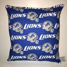 Lions Pillow NFL Pillow Detroit Lions Pillow Football Pillow HANDMADE In USA
