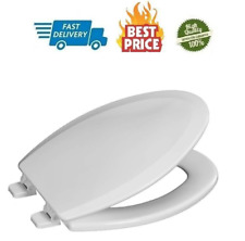 Elongated Wooden Toilet Seat Heavy Duty Molded Wood With Centocore Technology Wh