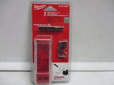 MILWAUKEE 48-25-5225 3 Switchblade Selfeed Bit Replacement Kit - NEW