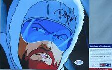 CLASSIC GI JOE!!! Rob Paulsen SNOW JOB Signed 8x10 Photo #11 PSA/DNA