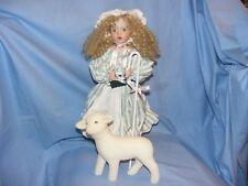 Poupée ashton drake Little Bo Peep Wendy Lawton poupée en porcelaine avec moutons