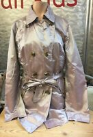 Betty Barclay Outdoor Kurzmantel Trenchcoat 2 reihig rose changierend Gr 36 Top