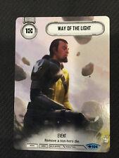 x2 Way of the Light #106 Common Full Art Promo Star Wars Destiny WotF Playset