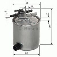 BOSCH ENGINE FUEL FILTER OE QUALITY REPLACEMENT F026402096