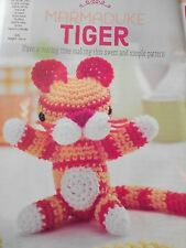 CROCHET PATTERN Marmaduke The Tiger Toy Animal Doll 16cm Tall Childrens PATTERN