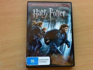 Harry Potter And The Deathly Hallows Part 1 2-Disc Special Edition (DVD 2010) R4