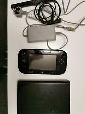 Nintendo Wii U Premium Pack 32GB Black Handheld System read description