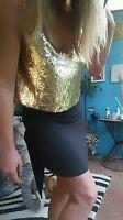 """Sass & Bide """"THE REDEMPTION"""" Sequin Embellished Dress Size 38 (8)"""