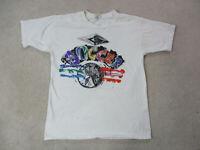 VINTAGE Umbro Shirt Adult Large White Purple Soccer Futbol Football Men 90s A43*