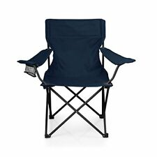 Picn 804001380000 Picnic Time PTZ Portable Folding Camp Chair Navy