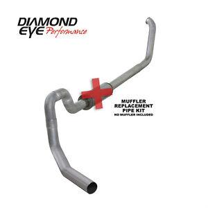 "Diamond Eye For 99 - 03 Ford F-550 Super Duty 7.3L Exhaust System 4"" Aluminized"