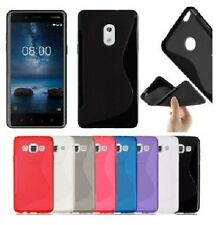 S-line Wave Silicone Gel Back Case Cover For Various Nokia Lumia Microsoft phone