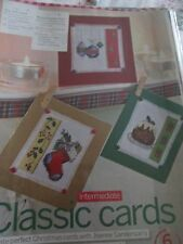 'Classic Cards' Joanne Sanderson cross stitch charts(only)