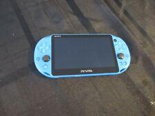 Sony PlayStation Vita - Aqua Blue with game little big planet