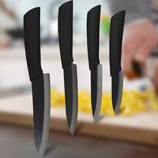 Black Blade Ceramic Knife Set Chef's Kitchen Knives 4 Size