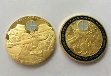 Sniper Coins Army Gold Plating Commemorative Collectibles Yager Souvenir BADGE