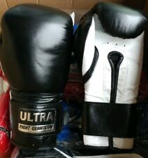 Ultra Leather Muay Thai Boxing Gloves (16oz) Professional Quality