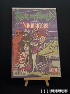 Rick And Morty Presents The Vindicators Issue 1 (2018) BAGGED & BOARDED