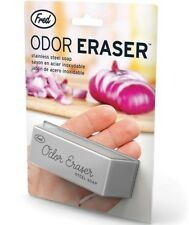 1 x Odor Eraser Stainless Steel Soap by Fred & Friends Removes Onion Smell NEW