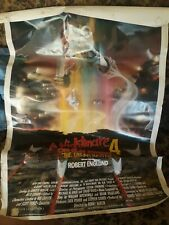 Large Movie Poster Lot Promotional Video Store 1990s