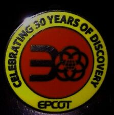 7 Epcot Disney Pins: 30th anniv, Test Track & Hidden Mickey logos