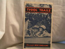 1930'S TYDOL/VEEDOL OIL CO ROAD MAP OF NEW ENGLAND