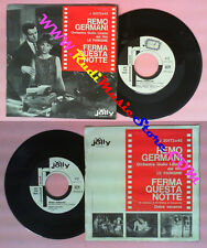 LP 45 7'' REMO GERMANI Ferma questa notte Dolce vacanza PROMO JOLLY no cd mc dvd